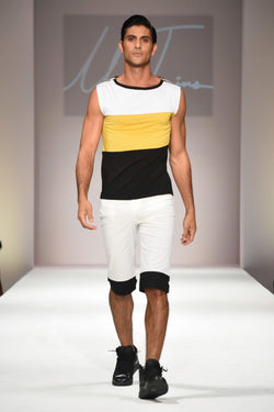 Sleeveless Colorblock Top - dreadavinci