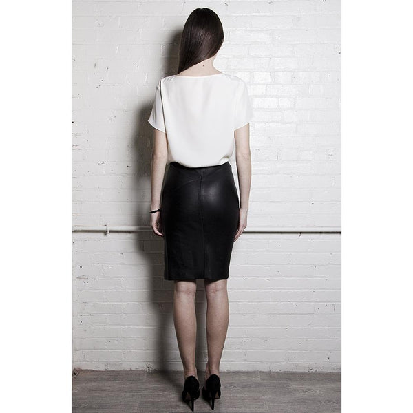 The Leather Pencil Skirt - dreadavinci