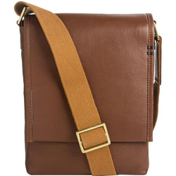 Seattle Unisex Leather Crossbody Messenger - dreadavinci