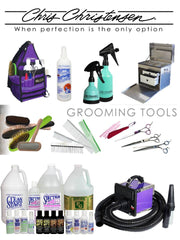 Chris Christensen Pet Grooming Products