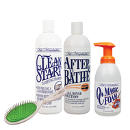 Wire Coat Bag Deal ... Buy Clean Start Shampoo + After U Bathe + OC Magic Foam and get A911 Breezy Brush FREE!