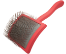 "Big G ""Coral"" (Large) ... Dense Slicker Brush"
