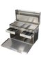 "DF1000S ""Standard"" Tack Box - double drawer ... mirror finish"