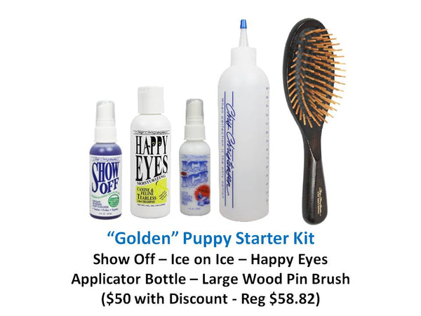 """Golden"" Puppy Starter Kit"