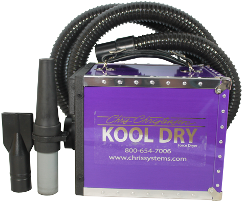 Kool Dryer - Cool Air Dryer ... available in 4 colours