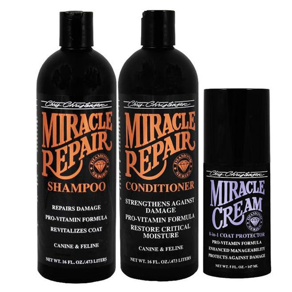 Diamond Series - Miracle Repair Bag Deal ... Buy Miracle Repair 16 oz Shampoo and 16 oz Conditioner ... and Get 5 oz Miracle Cream FREE!