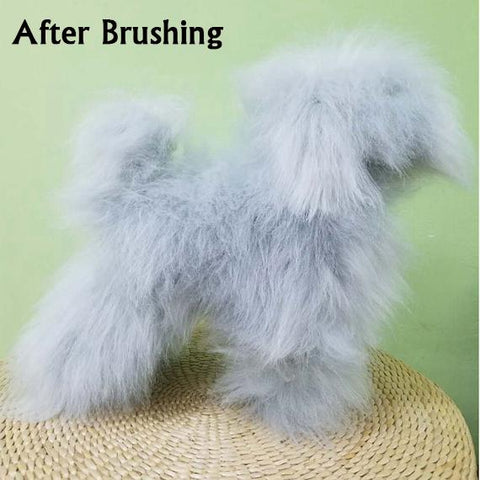 "Toy Poodle - Full Body Wig - ""Grey"""