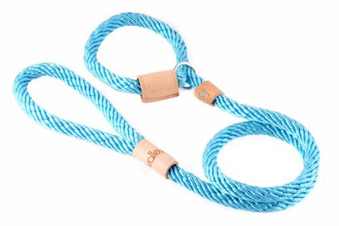 Slip Lead w/Stop - 4' x 13mm (Alvalley) ... 8 colours