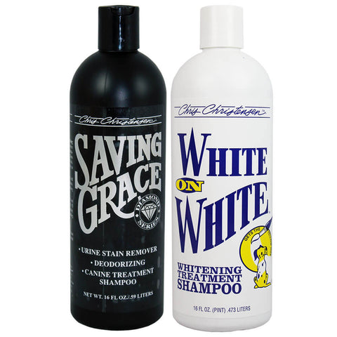 Saving Grace Bag Deal ... Buy Saving Grace 16 oz Shampoo and get White on White 16 oz Shampoo FREE!