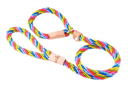 Slip Lead w/Stop - 4' x 9mm (Alvalley) ... 8 colours