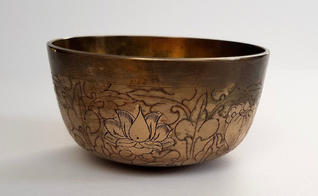 Cleansing Singbowl - Deep Copper Ashtamangala