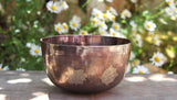 Deep Singbowl - Copper Ashtamangala - For Meditation - Singbowls