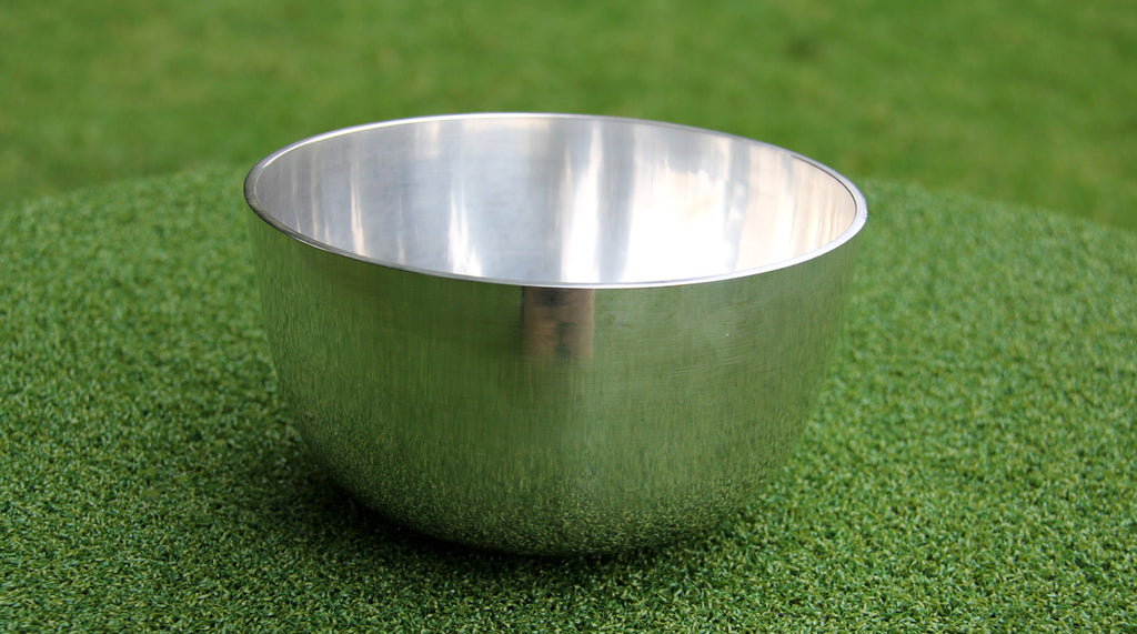 Deep Singbowl - Plain Silver - For Space Clearing