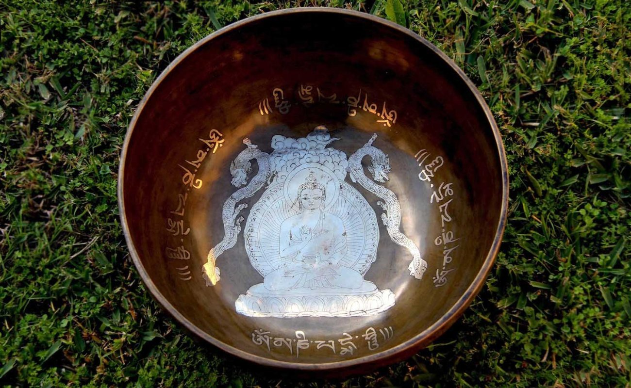 Hand Beaten Blessed Buddha Singbowls - for Healing