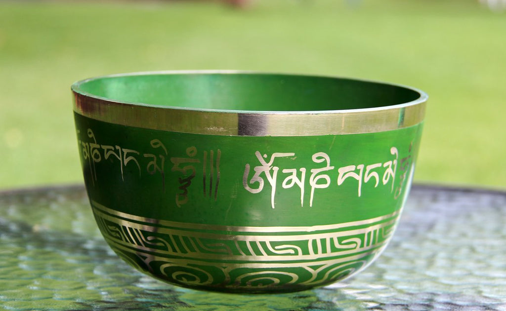 Deep Singbowl - Green Tibetan Mantra - For Meditation