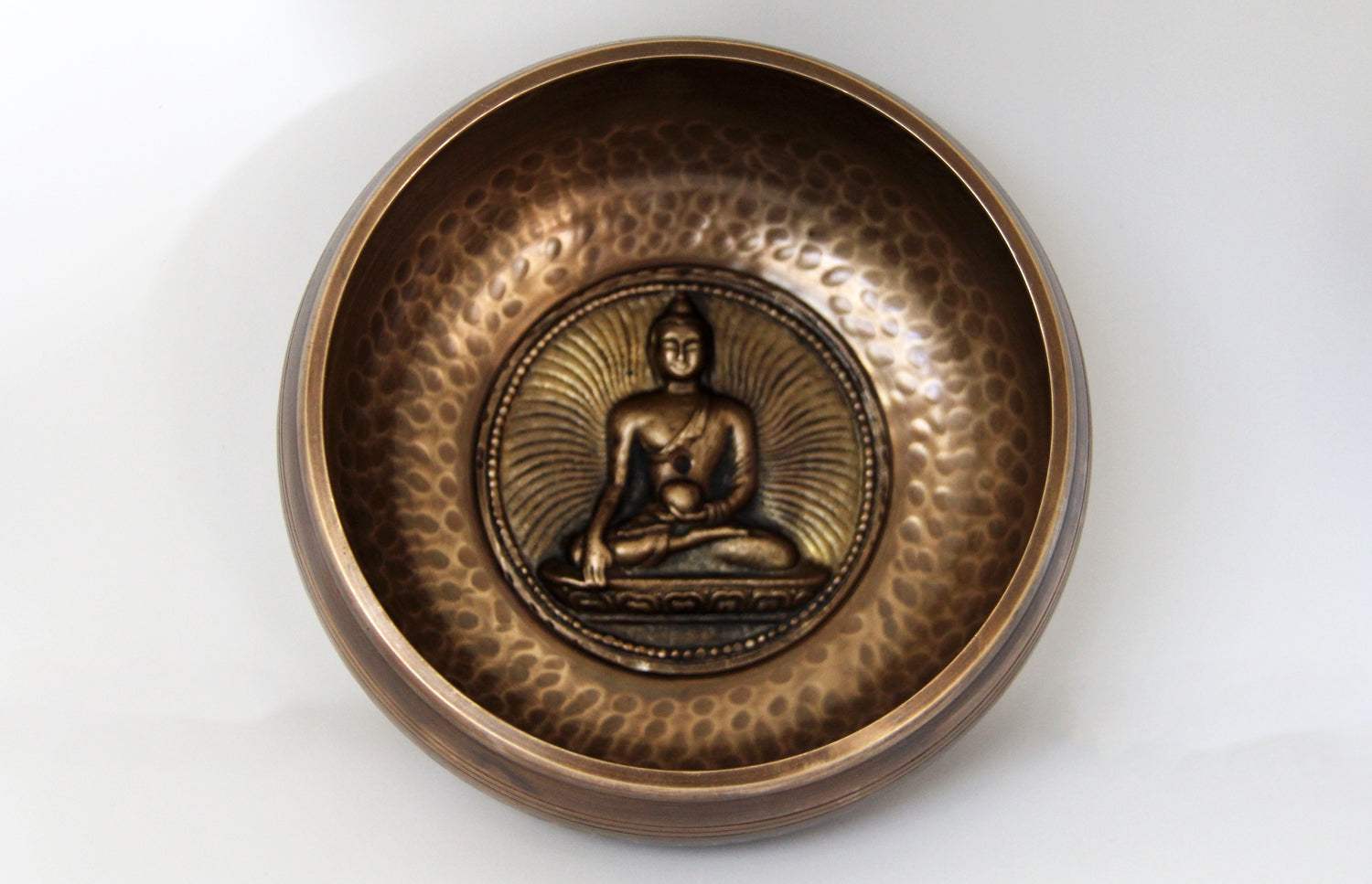 Gulpa Symbol Dotted Singbowls 1000g - for Meditation