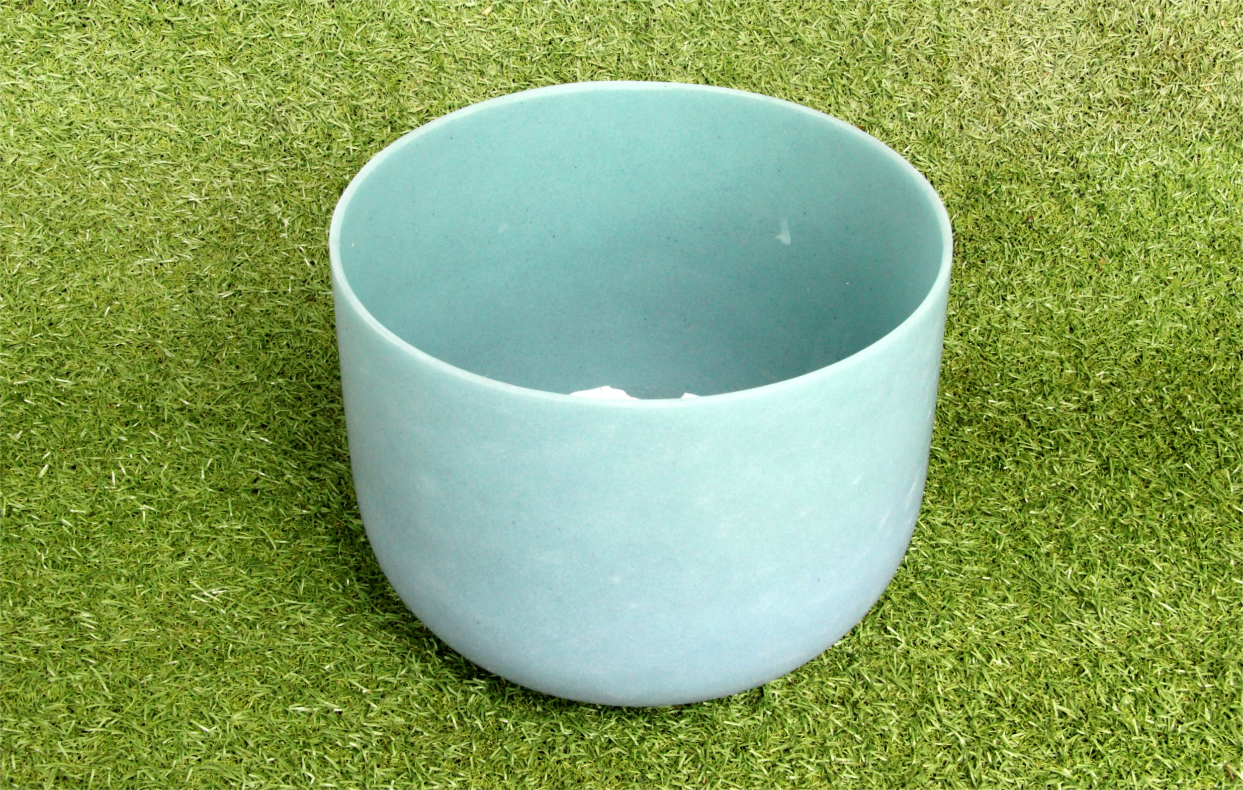 Singing Bowl Made of Malachite