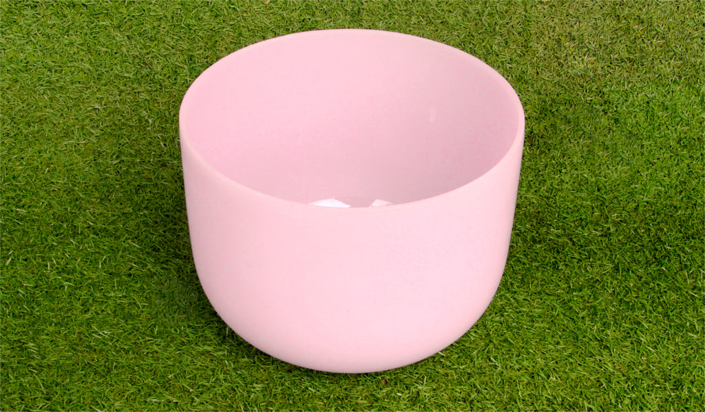 Rose Quartz Crystal Singbowls