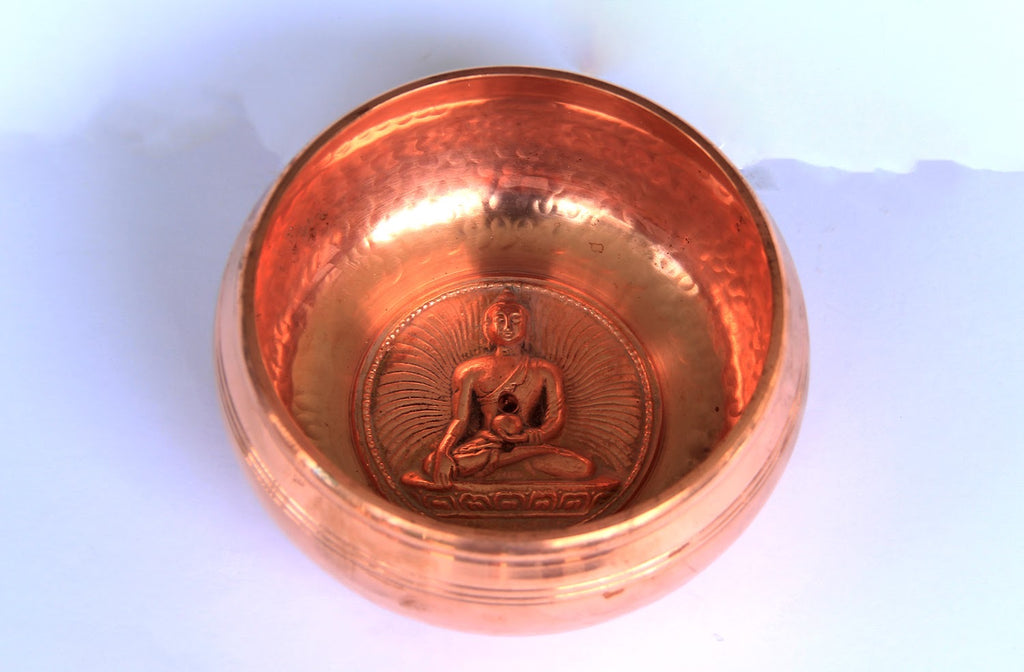 Gulpa- Symbol- Dotted- Rose Gold- 1000g - for Meditation
