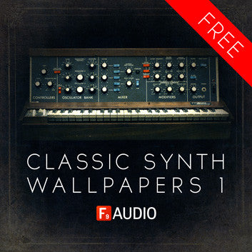 F9 Audio Free Classic Synth Wallpapers - F9 Audio | Royalty Free loops | Wav Samples | Apple Loops | Synth Presets | Free DAW Tutorials