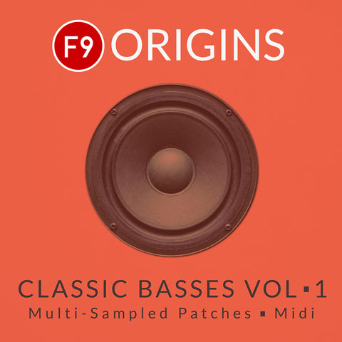 F9 Origins Classic Basses Vol1 - Logic & Ableton