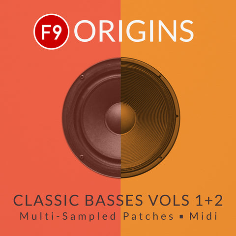 F9 Origins Classic Basses Vol 1 & 2 - Logic & Ableton
