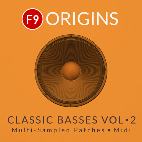 F9 Origins Classic Basses Vol2 - Logic & Ableton