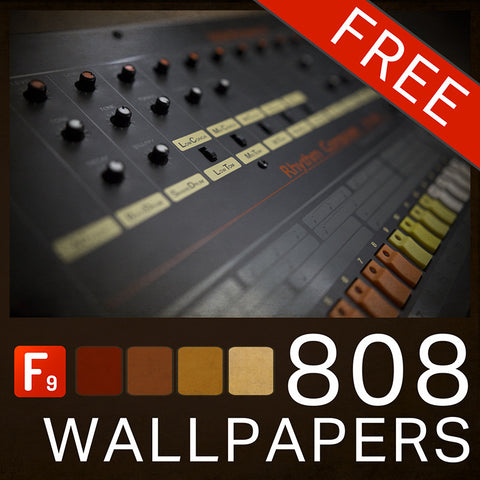 F9 808 Wallpapers FREE - F9 Audio Royalty Free loops & Wav Samples