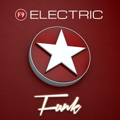 F9 Electric Funk : Retro 80s Funk - F9 Audio Royalty Free loops & Wav Samples