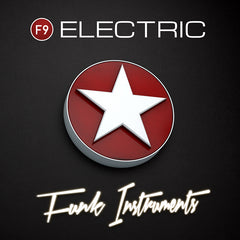 F9 Electric Funk Instruments & Multisamples - F9 Audio Royalty Free loops & Wav Samples