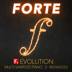 FORTE Evolution Piano : 1 Redwood - F9 Audio Royalty Free loops & Wav Samples