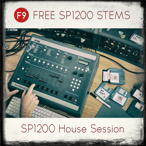 F9 FREE SP1200 House Beat Stems . - F9 Audio Royalty Free loops & Wav Samples