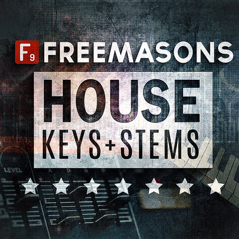 F9  Freemasons Keys and Stems Volume 1 - F9 Audio Royalty Free loops & Wav Samples