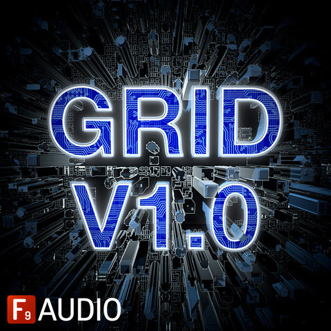Grid V1.0 - 80s Future Retro - F9 Audio Royalty Free loops & Wav Samples