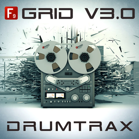 Grid V3.0 - Future Retro Drumtrax - F9 Audio Royalty Free loops & Wav Samples
