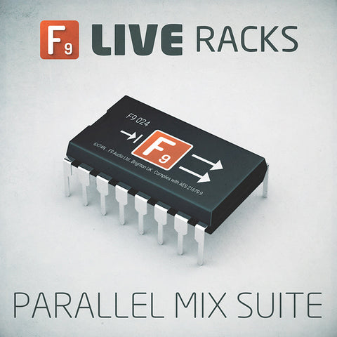 LIVE RACKS : Parallel Suite - F9 Audio Royalty Free loops & Wav Samples