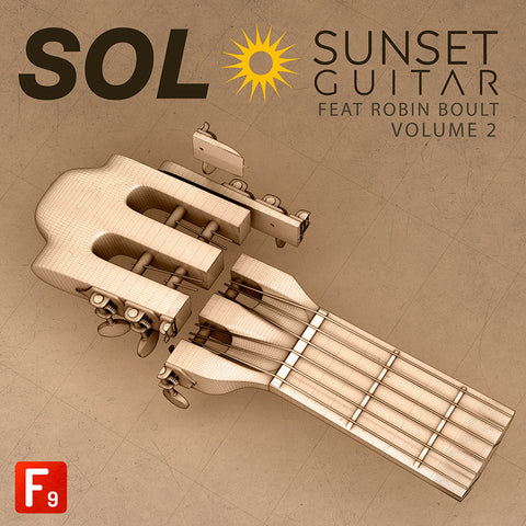 SOL V2: Sunset Guitar Feat. Robin Boult - F9 Audio Royalty Free loops & Wav Samples