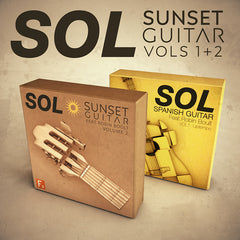 SOL Sunset Guitar Vols 1+2 Bundle - Save 20% - F9 Audio Royalty Free loops & Wav Samples