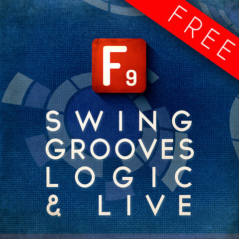 F9 Audio MPC and Maschine Swing Grooves for Logic and Ableton Live - F9 Audio Royalty Free loops & Wav Samples