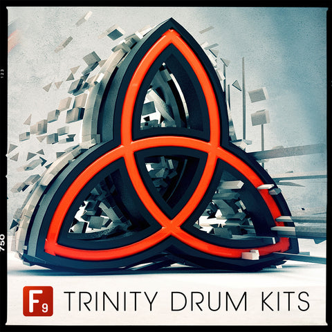 Trinity Drum Kits V1 FREE - Limited Edition - F9 Audio | Royalty Free loops | Wav Samples | Apple Loops | Synth Presets | Free DAW Tutorials