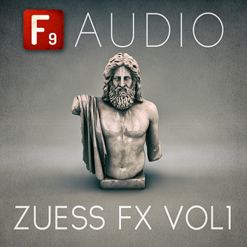 F9 Zuess FX Vol 1 - F9 Audio | Royalty Free loops | Wav Samples | Apple Loops | Synth Presets | Free DAW Tutorials