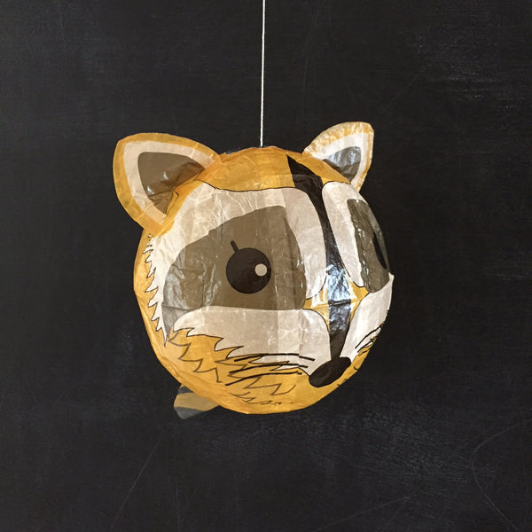 Japanese Paper Balloon - Racoon