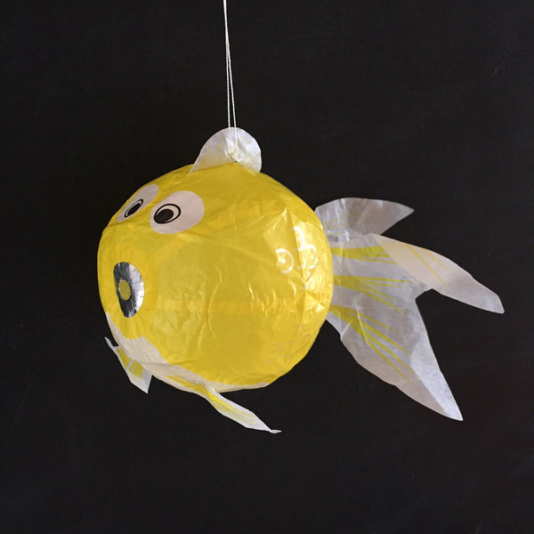 Japanese Paper Balloon - Fish (size options available)
