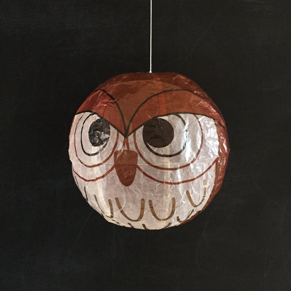 Japanese Paper Balloon - Owl
