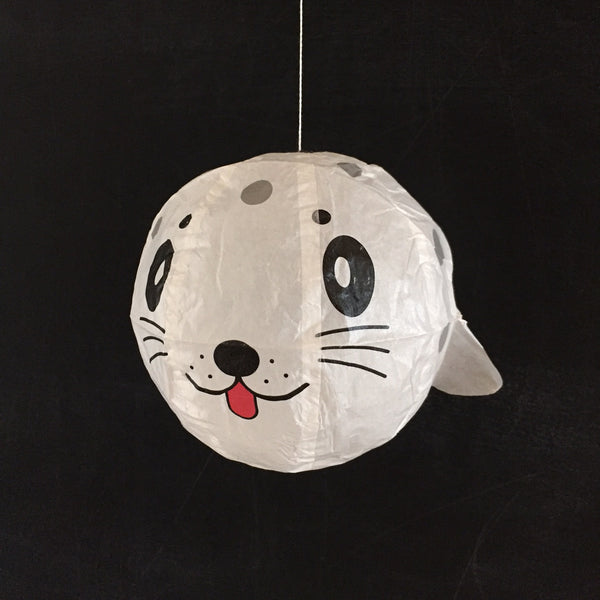 Japanese Paper Balloon - White Seal