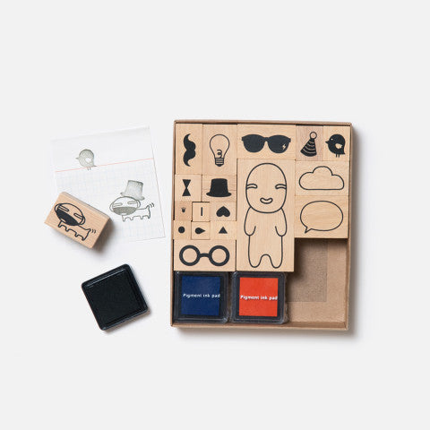 Play with Noodoll Stamp Set