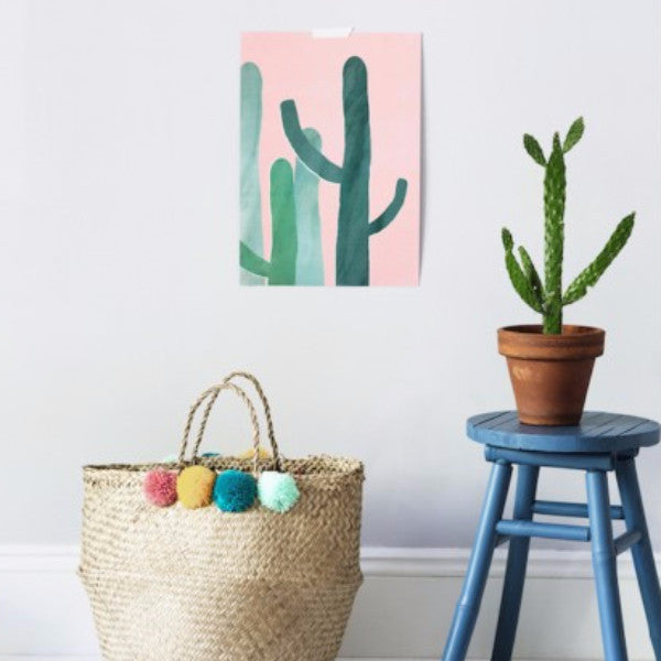 Cacti in Pink