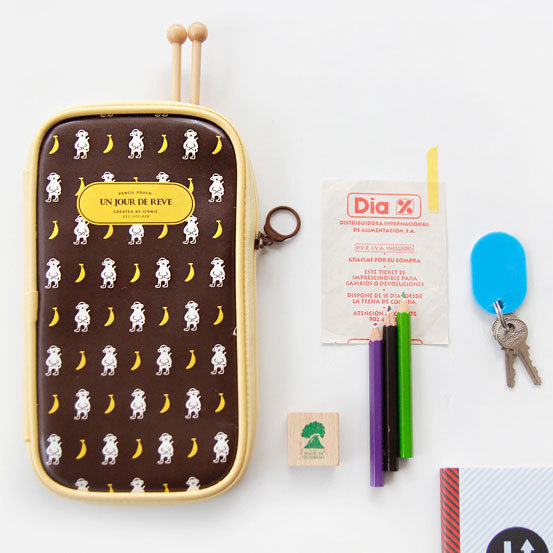Pattern Pencil Pouch