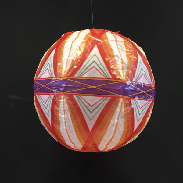 Japanese Paper Balloon - Pattern Ball