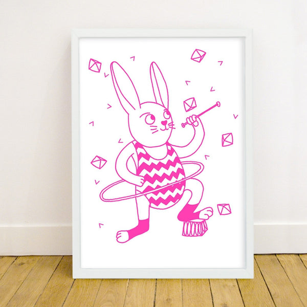Bunny Phospho Poster